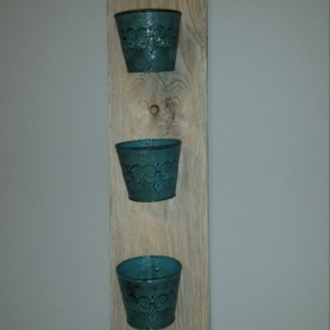 Rustic Indoor Vertical Herb Garden