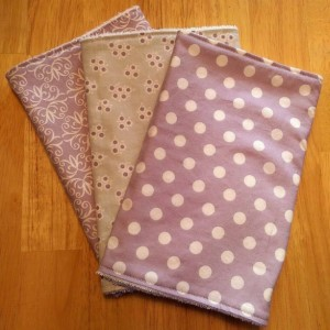 Burp Cloths for Girl Lavender, Baby Gift, Baby Shower Gift, Feeding Burp Cloths, Burp Rags, Diaper Rags, Spit Rags
