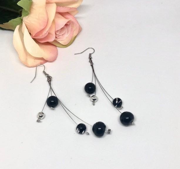 Clustered Dangle/Drop Earrings