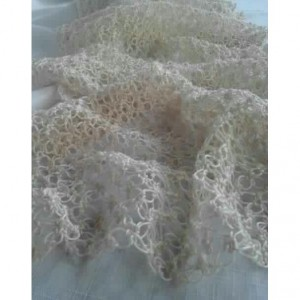 Lover's Knot Wedding Wrap in Champagne Natural