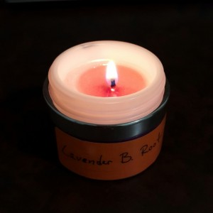 3 Organic Scented Candles