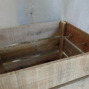Large Pallet Wood Crate, Pallet Crate, Wooden Crate, Rustic Home Decor
