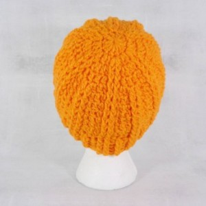 Orange beanie - winter beanie hat - warm hat - gift under 25 - christmas gift - holiday gift - boho beanie - warm beanie - beanie hat