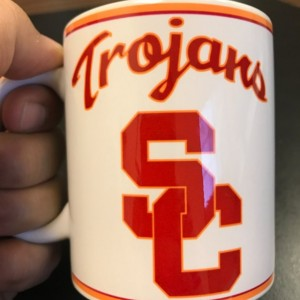 Custom Made USC Trojans Coffee Mug