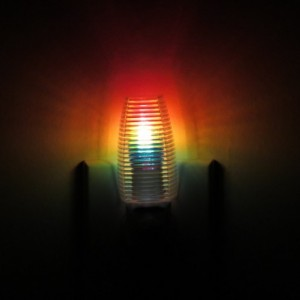 Hand-Painted Rainbow Mood-Light Night Light