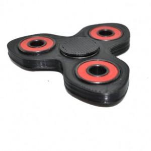 3D printed Fidget Spinner Hand Spinner Toy Black