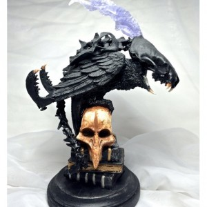 Raven Chimera, Barnaby Grudge OOAK Sculpture