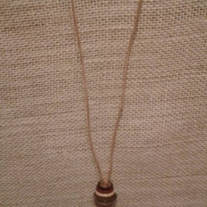 Stacked Button Necklace