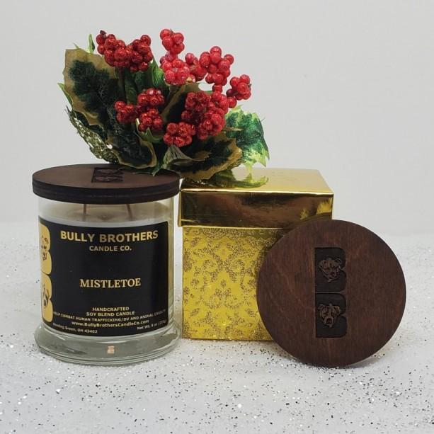 Mistletoe - Candle 9 oz jar