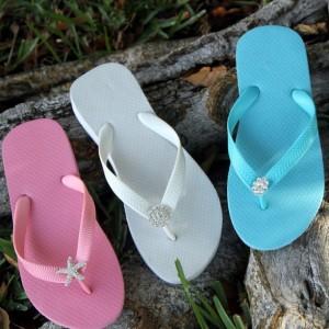Flip Flop Embellished Flat