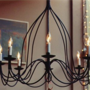 French Bell Chandelier