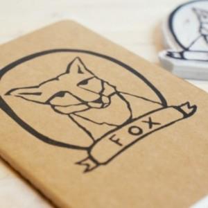 Fox in a Frame Notebook Moleskine Journal