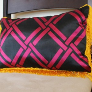 Fringe Benefits Pillow