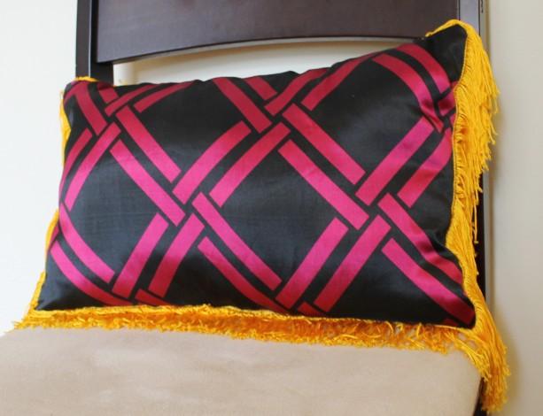 Fringe Benefits Pillow