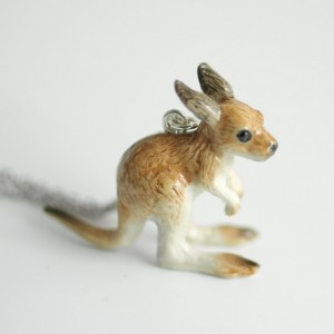 Kangaroo Necklace - MADE TO ORDER
