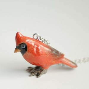 Cardinal Necklace - MADE TO ORDER