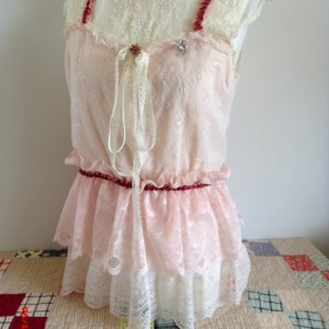 Vintage Lace Tank Top Cami