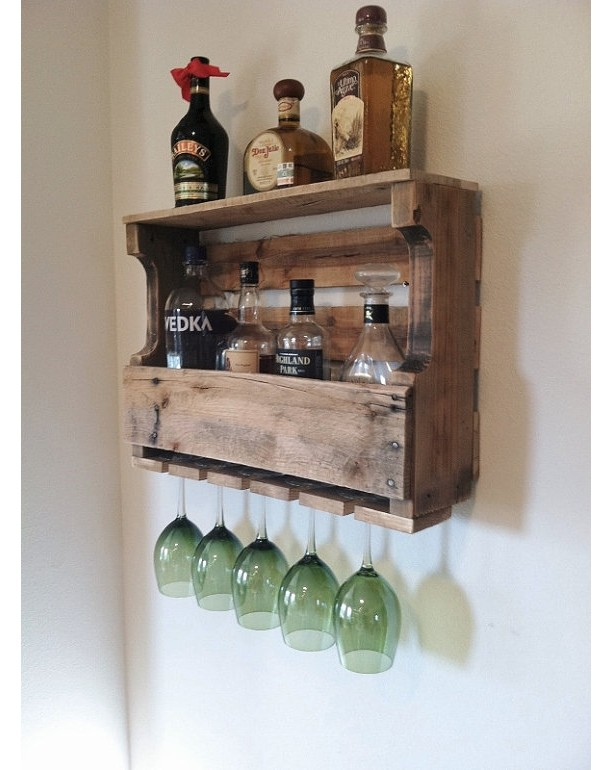 The Great Lakes Liquor Rack