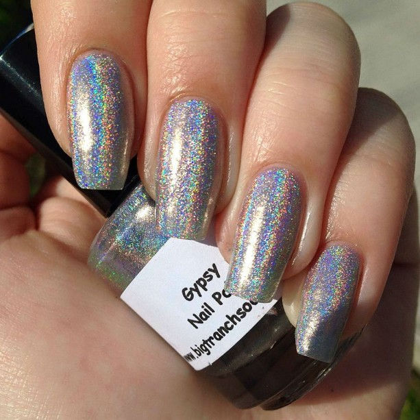 "Spectraflair Nail Polish - ""GYPSY"" - Holographic"