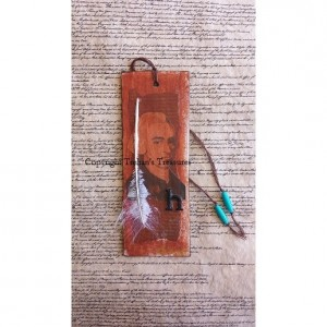 John Hancock Mini Mixed Media Art & Bookmark