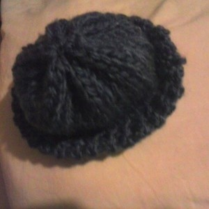 bootie hat set