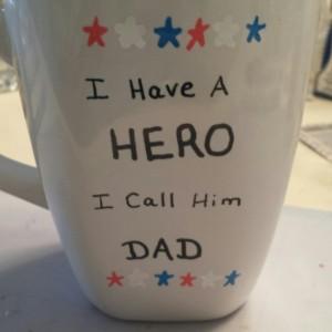 Hero Father's Day Coffee Mug