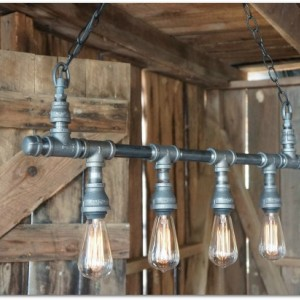 Ridgemont Iron Chandelier