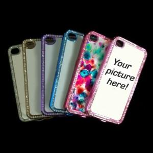 iPhone 4/4s Custom Bling Case