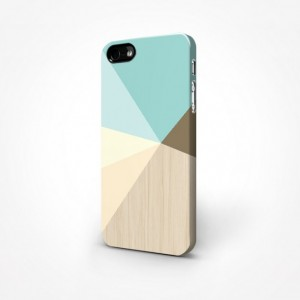 Pastel Geometric Minimalist 3D Case - iPhone 5/5S 3D Case