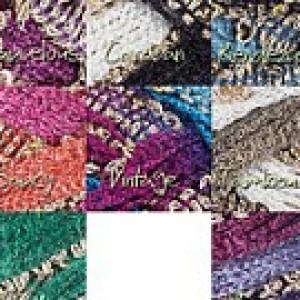 Hand Knit Boho Style Fluffy Scarf