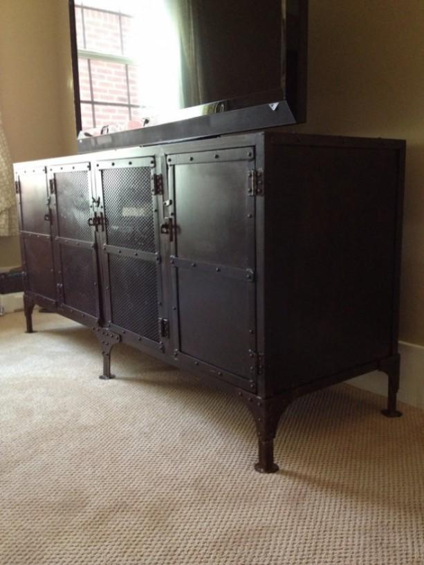 Metal Media Cabinet