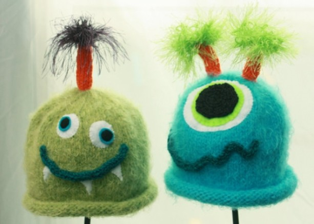 Monster Baby Hats