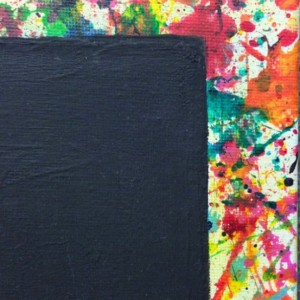 Splatter Paint Magnet Board