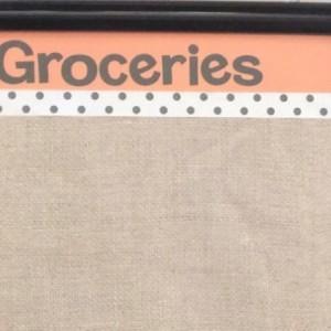 Chicken Grocery Dry Erase Board
