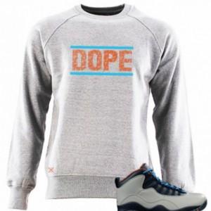Untuckt – Dope Crew Neck Matches Air Jordan 10 Bobcats
