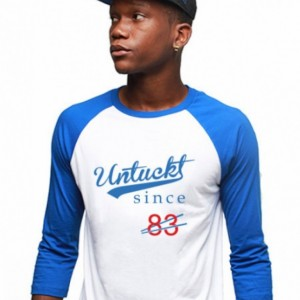 Untuckt - 83 Raglan To Match Air Jordan 3 Powder Blue