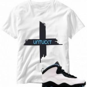 Untuckt - Emergency Matches Air Jordan 10 Powder Blue