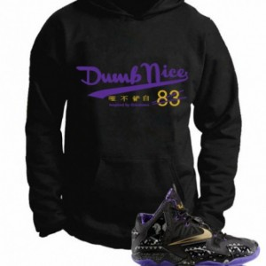 Untuckt – Dumb Nice Hoody Matches Lebron 11 Black History Month