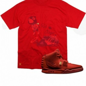 Untuckt - Red October Matches Yeezy 2 Red Octobers