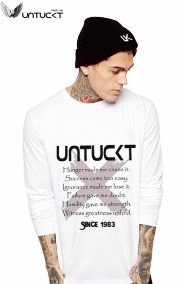 Untuckt – Evolution Long Sleeve Shirt Matches Air Jordan 11 Concords