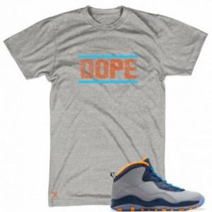 Dope T Shirt Matches Air Jordan 10 Bobcats