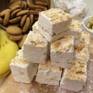 Gourmet Banana Pudding Marshmallows, Homemade & Made to Order