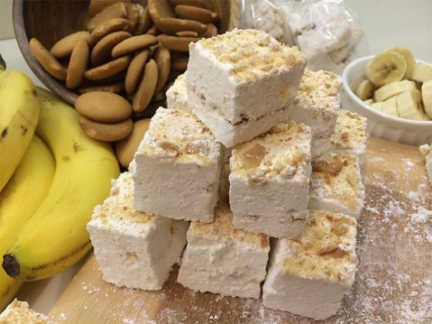 Gourmet Banana Pudding Marshmallows, Homemade & Made to Order