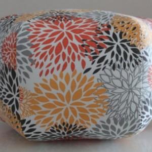 Ottoman Pouf Floor Pillow Blooms
