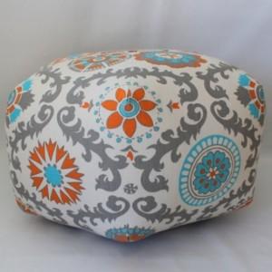 Ottoman Pouf Floor Pillow Rosa Mandarin