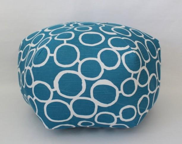 Pouf Ottoman Floor Pillow Freehand Aquarius