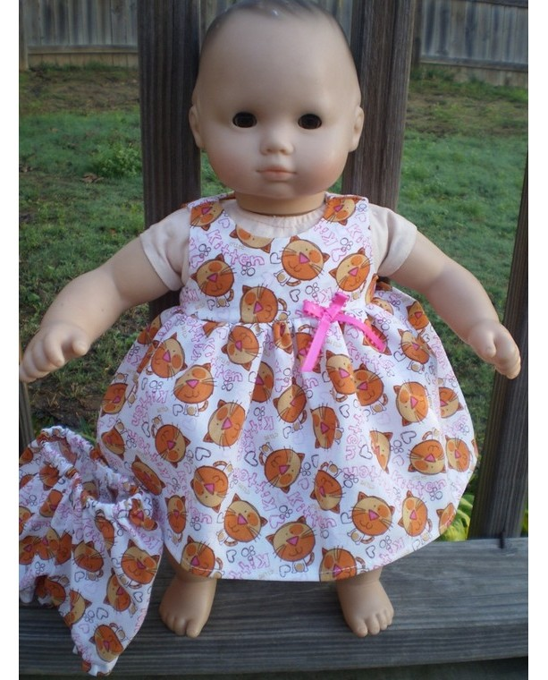 Bitty Baby Dress Bitty Baby Underwear Kitty Cat Doll Dress Amer
