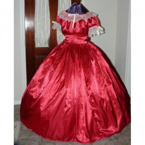 Basic Civil War Reenactment Ladies Juniors Ball Gown Sizes, Different Styles, Colors