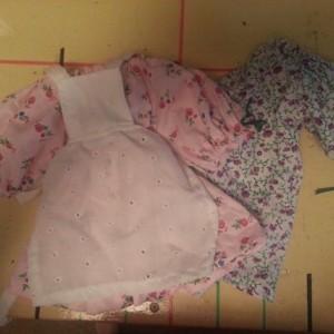 Little House on The Prairie Doll 3 Piece Set Your Fabric Choice