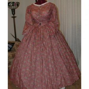 Civil War Reenactment Pioneer Ladies Juniors Day Gown Sizes, Different Styles, Colors available